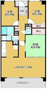 マンション 枚方市南楠葉1丁目 京阪本線樟葉駅 12.3万円