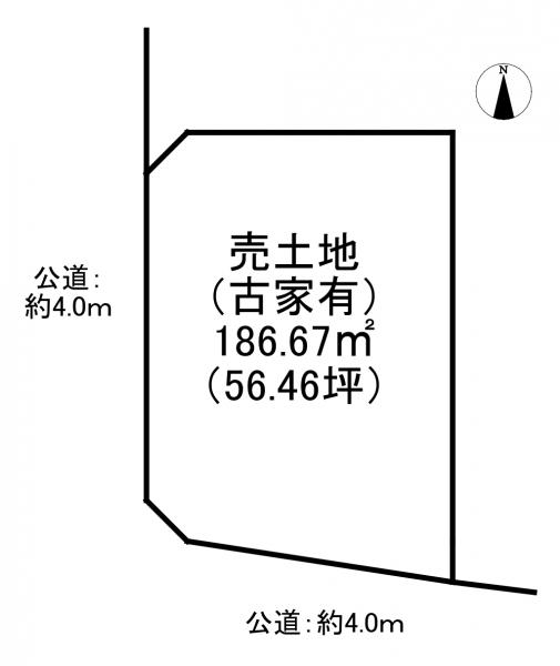 土地 宇治市広野町桐生谷 JR奈良線新田駅 3380万円