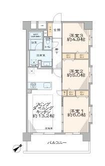 中古マンション 台東区根岸5丁目 日比谷線三ノ輪駅 4990万円