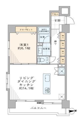 中古マンション 港区芝大門2丁目 JR山手線浜松町駅 6580万円