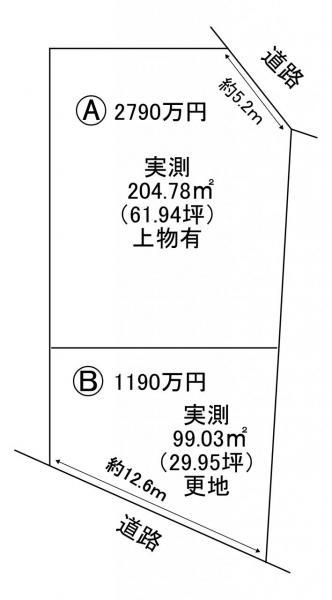 土地 宇治市開町 近鉄京都線伊勢田駅 2790万円