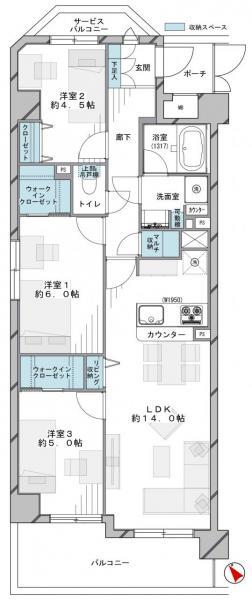 中古マンション 板橋区大山西町56-4 東武東上線大山駅 5190万円