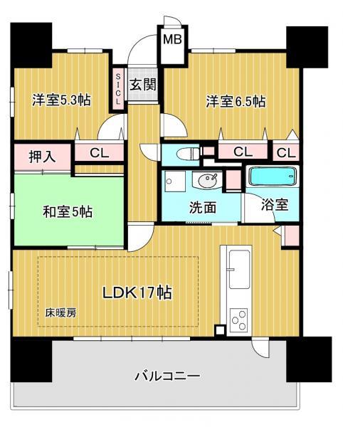 中古マンション 大津市中央4丁目 JR東海道本線(米原〜神戸)大津駅 3698万円