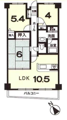 中古マンション 大津市本宮2丁目 JR東海道本線(米原〜神戸)大津駅 1280万円