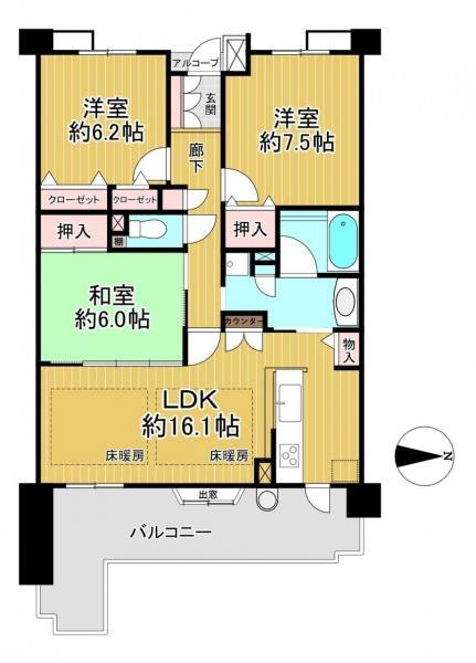 中古マンション 大津市馬場3丁目 JR東海道本線(米原〜神戸)膳所駅 3100万円