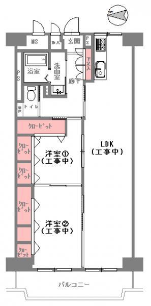 中古マンション 大阪市北区池田町 JR大阪環状線天満駅 3598万円