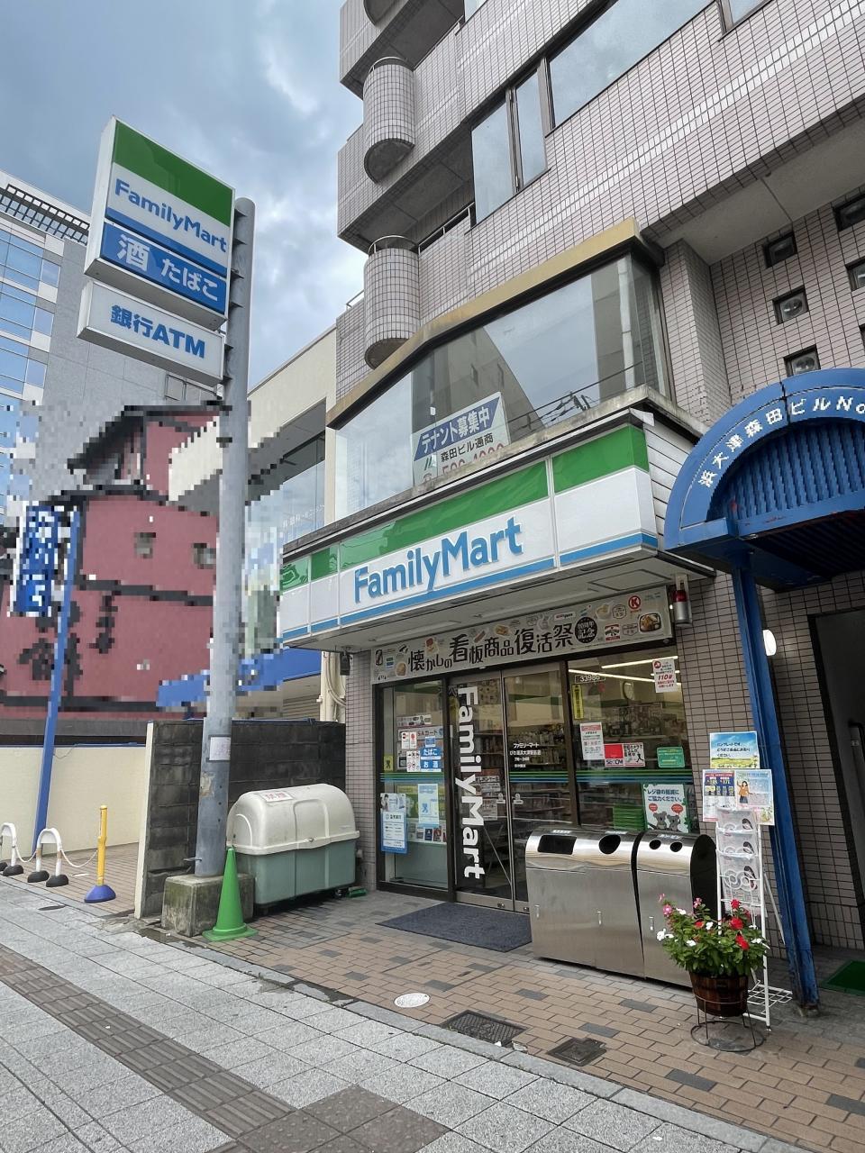 ファミリーマートびわ湖浜大津駅前店