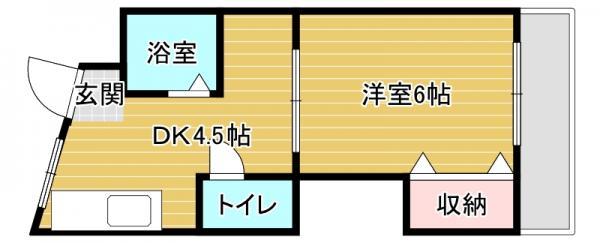 マンション 大阪市都島区都島中通3丁目 JR大阪環状線京橋駅 5.4万円