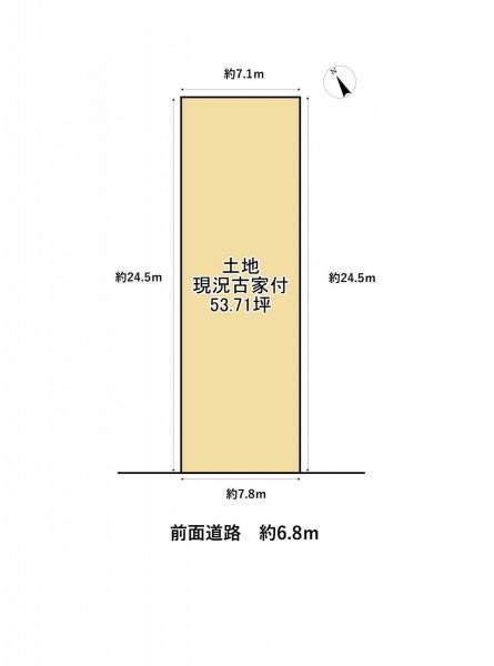 土地 草津市追分4丁目 JR東海道本線(米原〜神戸)南草津駅 1980万円