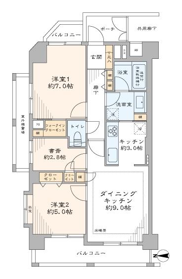 中古マンション 新宿区新小川町 有楽町線飯田橋駅 8480万円