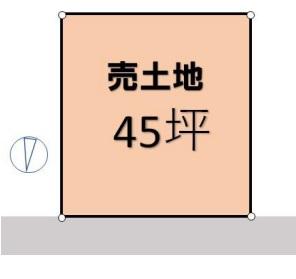 土地 三郷市早稲田5丁目 JR武蔵野線三郷駅 2400万円