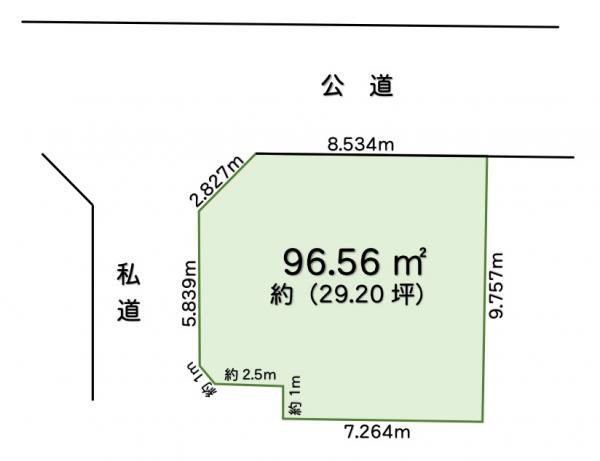 土地 葛飾区西水元3丁目 千代田常磐線金町駅 1680万円