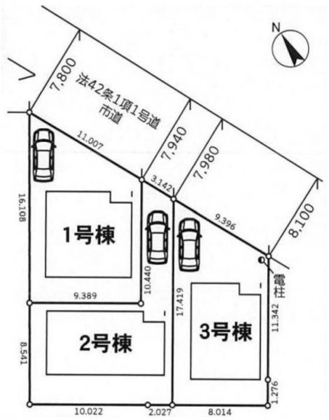 新築戸建 三郷市戸ケ崎3丁目 つくばエクスプレス三郷中央駅 2680万円