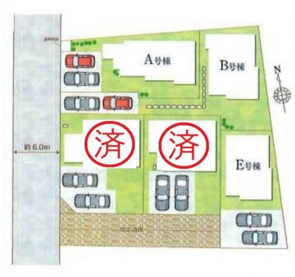 新築戸建 吉川市高富1丁目 JR武蔵野線吉川駅 3590万円