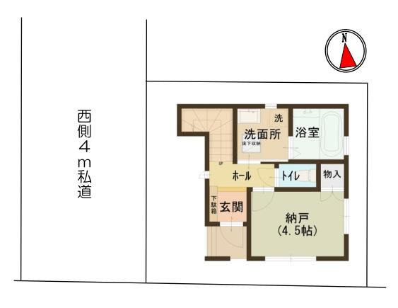 新築戸建 三郷市戸ケ崎3丁目 つくばエクスプレス八潮駅 2080万円