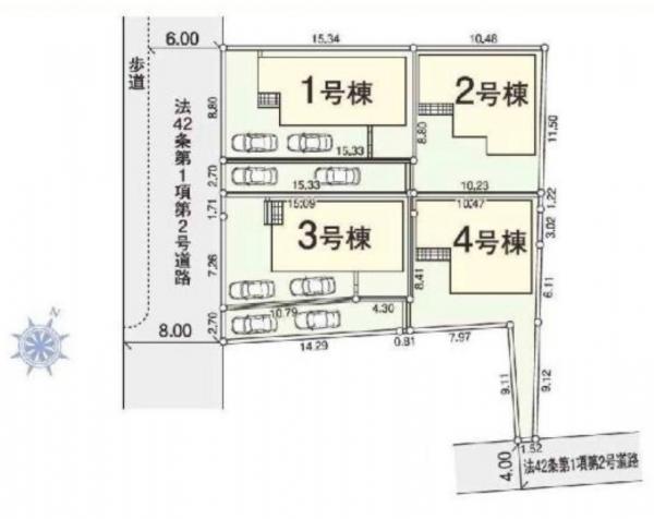 新築戸建 八潮市大字鶴ケ曽根 つくばエクスプレス八潮駅 3380万円