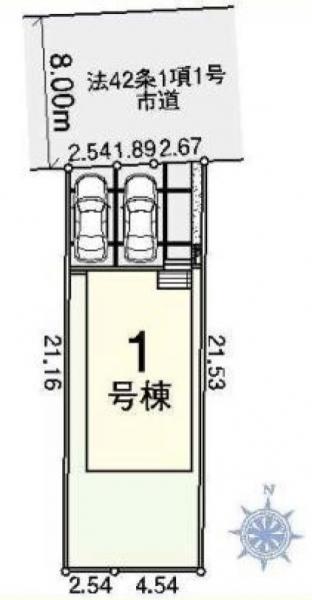 新築戸建 八潮市大字新町 東武伊勢崎線草加駅 3380万円