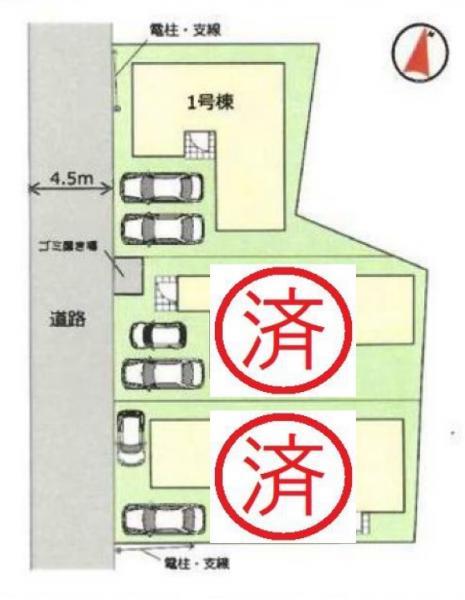 新築戸建 三郷市彦成2丁目 JR武蔵野線新三郷駅 3630万円