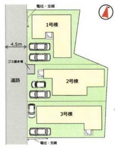 新築戸建 三郷市彦成2丁目 JR武蔵野線新三郷駅 3580万円