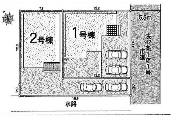 新築戸建 三郷市戸ケ崎1丁目 つくばエクスプレス三郷中央駅 3480万円