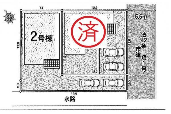 新築戸建 三郷市戸ケ崎1丁目 つくばエクスプレス三郷中央駅 3280万円