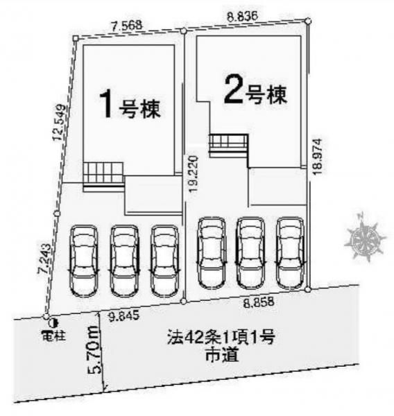 新築戸建 三郷市戸ケ崎2丁目 つくばエクスプレス八潮駅 3599万円