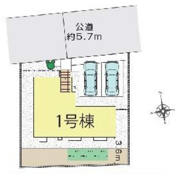 新築戸建 三郷市戸ケ崎2丁目 つくばエクスプレス三郷中央駅 3690万円