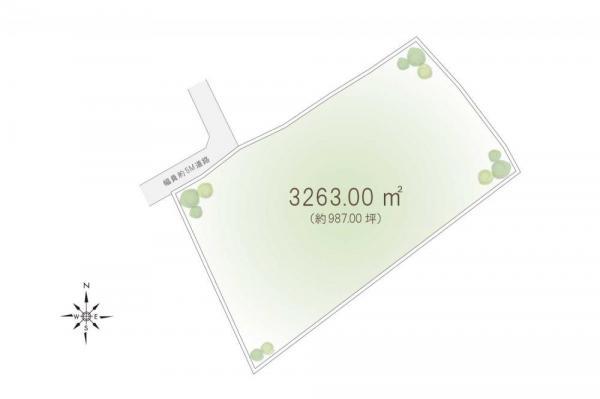 土地 埼玉県日高市大字中鹿山 JR八高線(八王子〜高麗川)高麗川駅 4500万円