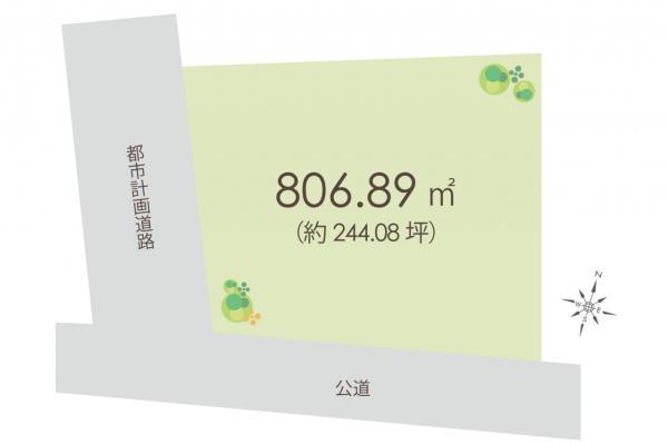 土地 埼玉県富士見市大字水子 東武東上線みずほ台駅 1億6900万円