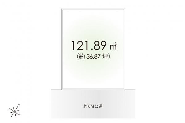 土地 埼玉県狭山市大字北入曽 西武新宿線入曽駅 1270万円