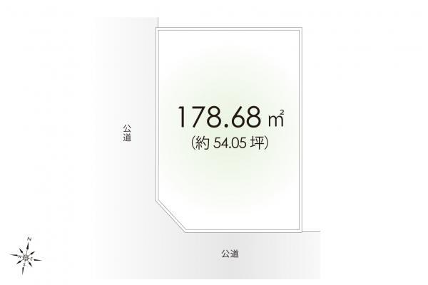 土地 埼玉県入間市大字野田 西武池袋線仏子駅 1950万円