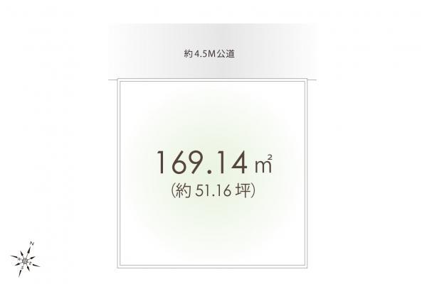 土地 埼玉県狭山市大字水野 西武新宿線入曽駅 1680万円