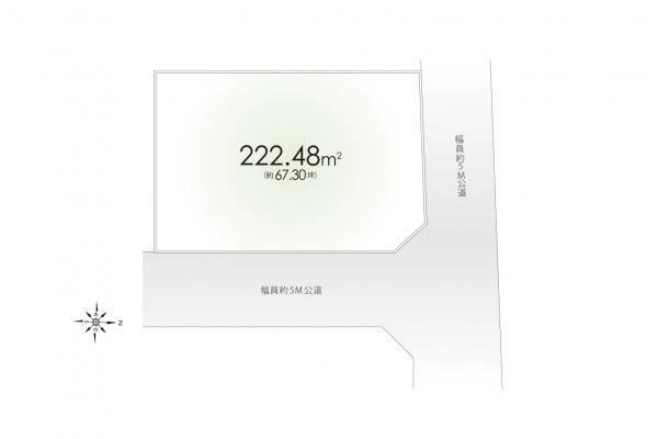 土地 埼玉県所沢市大字北岩岡 西武新宿線新所沢駅 1980万円
