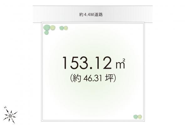 土地 埼玉県入間市大字小谷田 西武池袋線仏子駅 880万円