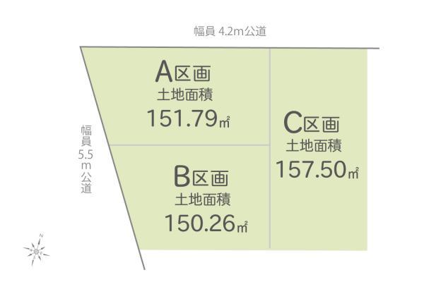 土地 埼玉県川越市大字的場 JR川越線的場駅 1880万円