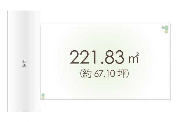 土地 埼玉県狭山市狭山 西武新宿線狭山市駅 2000万円