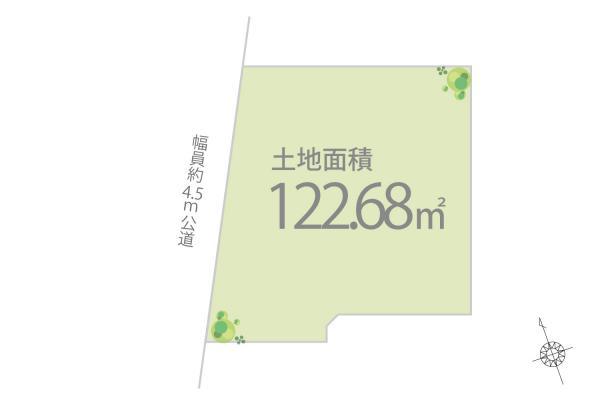 土地 東京都板橋区赤塚5丁目 東武東上線成増駅 3280万円