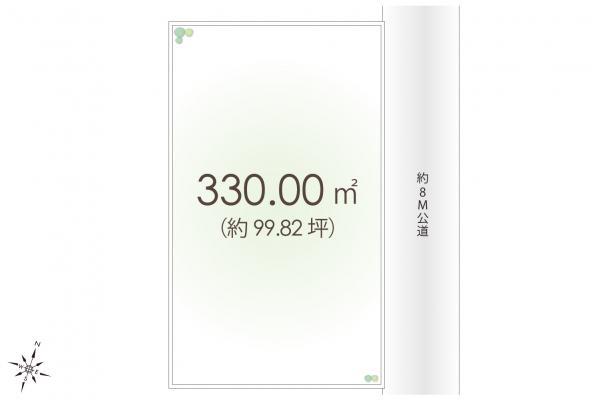 土地 埼玉県狭山市大字水野 西武新宿線入曽駅 3600万円