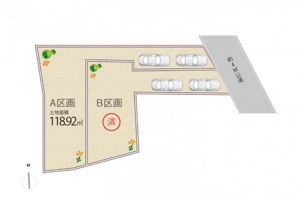 土地 東京都杉並区上井草4丁目 西武新宿線上石神井駅 8880万円