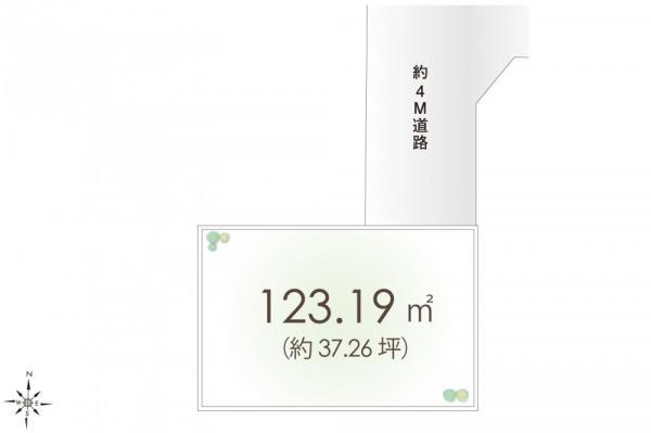 土地 埼玉県川越市大字的場 東武東上線霞ケ関駅 1280万円