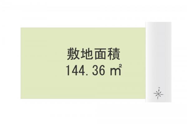 土地 埼玉県所沢市東所沢2丁目 JR武蔵野線東所沢駅 3080万円