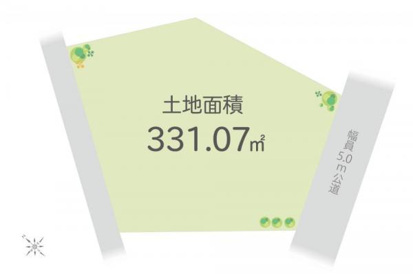 土地 埼玉県飯能市大字原市場 西武池袋線飯能駅 980万円