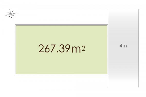 土地 東京都西東京市柳沢2丁目 西武新宿線西武柳沢駅 7980万円