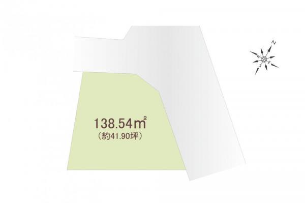 土地 埼玉県所沢市大字久米 西武池袋線所沢駅 2680万円