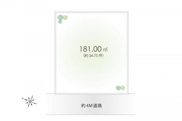 土地 埼玉県狭山市大字水野 西武新宿線入曽駅 1590万円