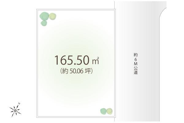 土地 埼玉県狭山市大字水野 西武新宿線入曽駅 1980万円