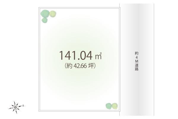 土地 埼玉県狭山市大字北入曽 西武新宿線入曽駅 1580万円
