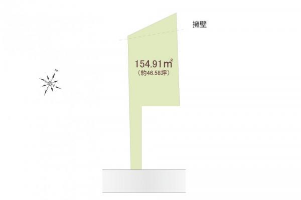 土地 埼玉県所沢市大字下安松 JR武蔵野線東所沢駅 1480万円