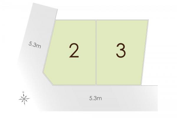 土地 東京都杉並区西荻北2丁目 JR中央線西荻窪駅 5580万円~6080万円