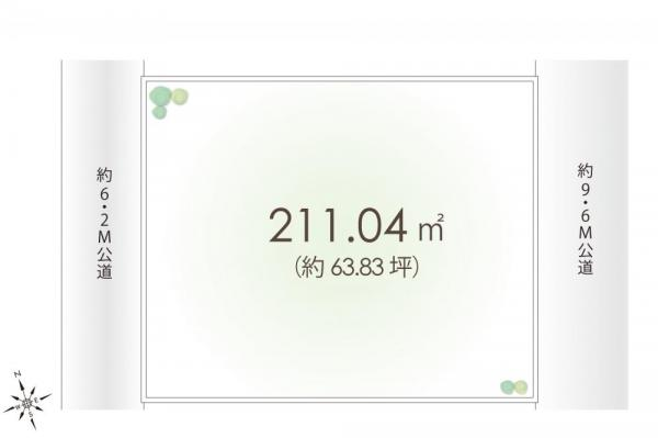 土地 埼玉県狭山市柏原 西武新宿線狭山市駅 1780万円